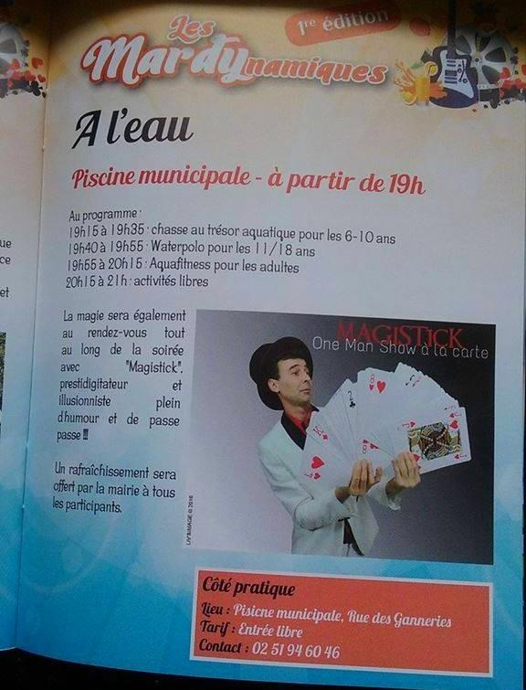 magicien aizenay 85