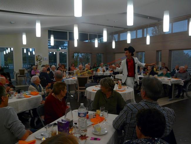 spectacle maisons de retraite seniors loire atlantique