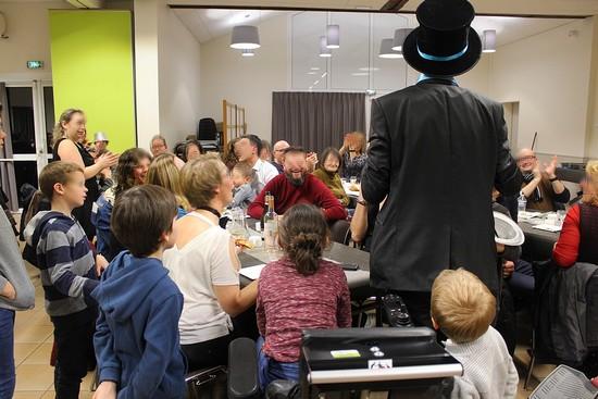 show der magie 44 spectacle aux tables